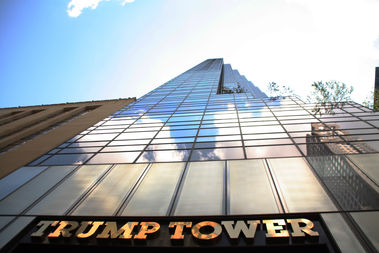Christian Baird was one of two people arrested for protests at Trump Tower Tuesday, police said.