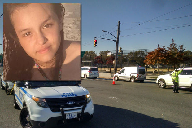 13YearOld Girl Fatally Hit by Car on Way to School NYPD