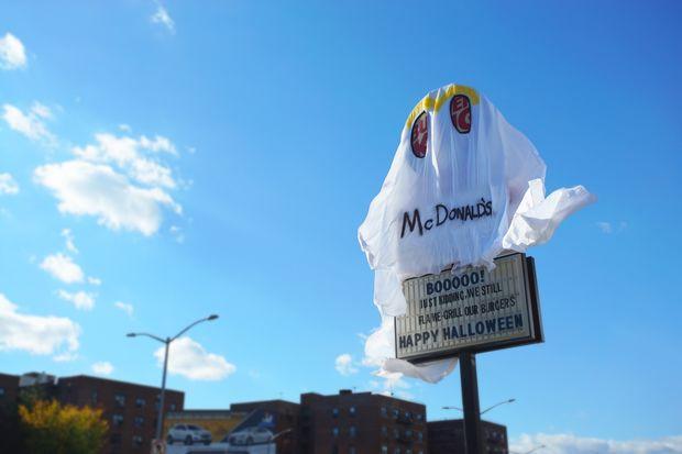 Rego Park Burger King Dresses Up Like McDonalds For