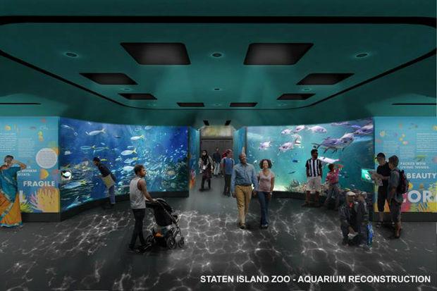 Staten Island Zoo Aquariums 84M Renovation to Add Huge
