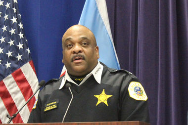Police Supt. Eddie Johnson said he's feeling a lot better after a health scare last week.
