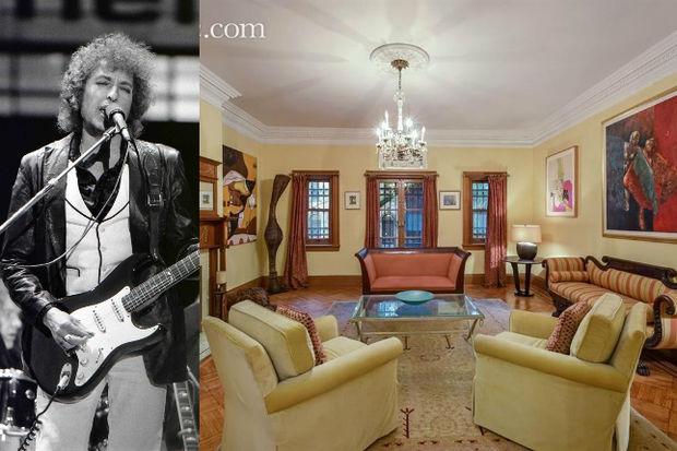 Bob Dylans Former Harlem Townhouse Hits Market for 37