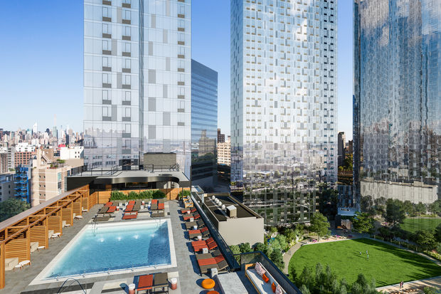 Upcoming LIC Luxury Towers to Offer Rooftop Pool Bocce Court Greenhouse  Long Island City
