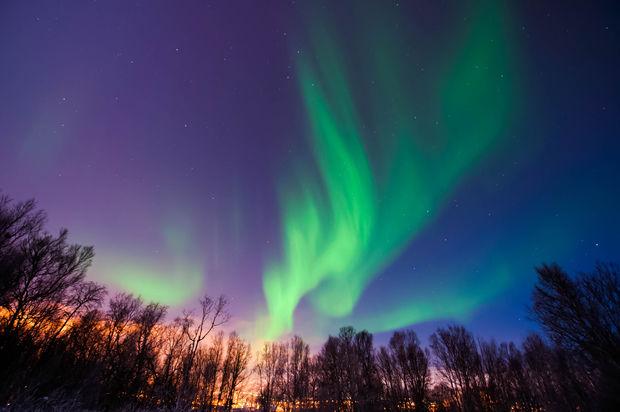 Northern Lights Illinois 2017