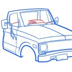 Old Chevy Pickup Drawing Tutorial Step By Step Drawing Guide By Dawn Dragoart Com