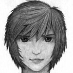 How To Draw Anime Hair In Pencil Step By Step Drawing Guide By Finalprodigy Dragoart Com