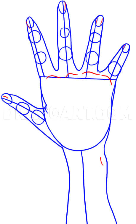 How To Draw Anime Hands Easy : anime, hands, Anime, Hands,, Step,, Drawing, Guide,, Dragoart.com