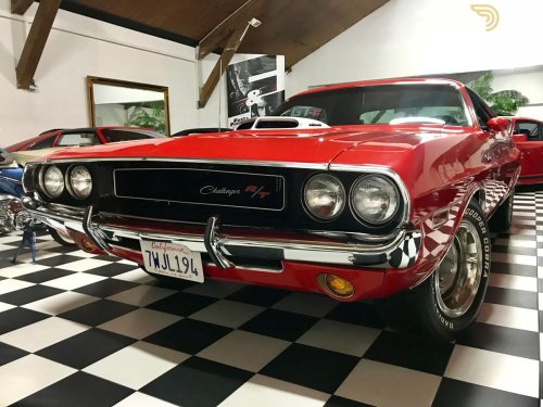 small resolution of dodge challenger 440 shaker manual pistol grip coupe 1970 red car for sale