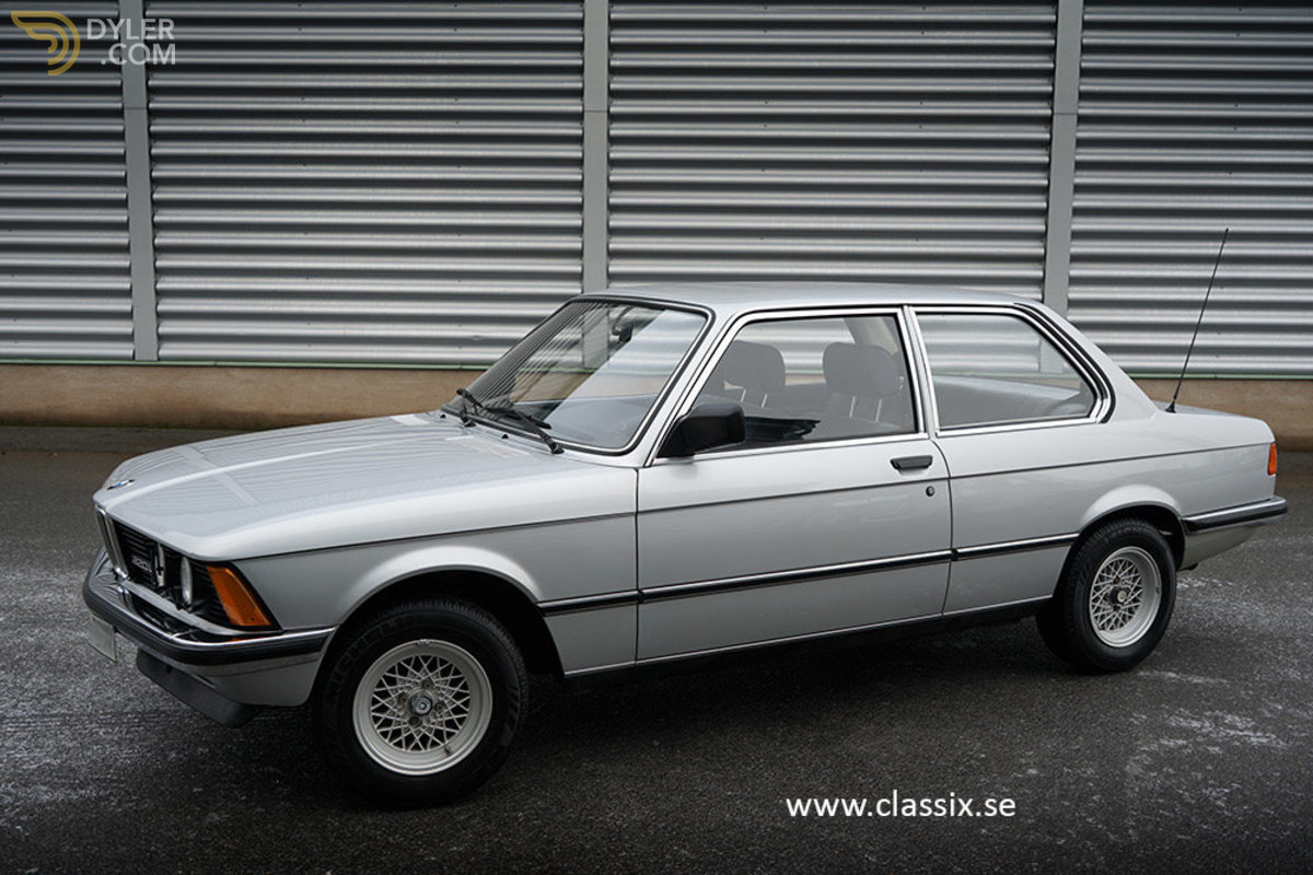 hight resolution of bmw 320i e21 coupe 1982 silver car for sale