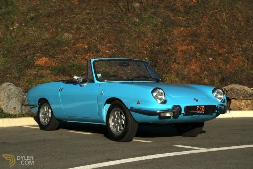 small resolution of fiat 850 850 sport spider cabriolet roadster 1972 grey car for sale