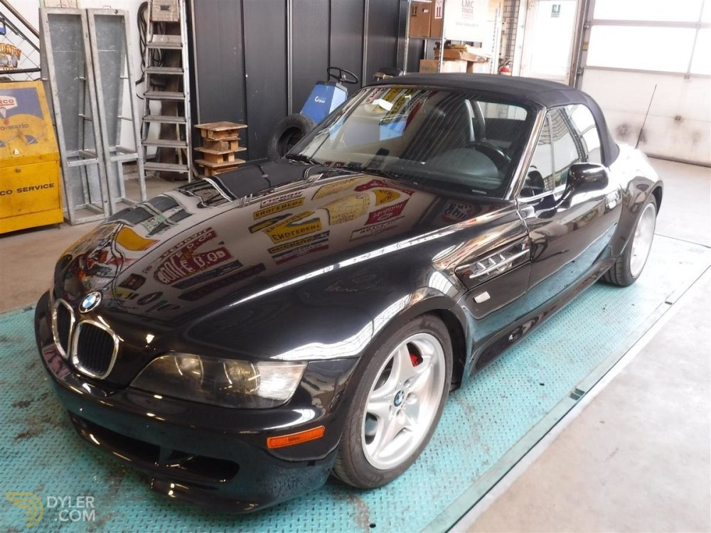 medium resolution of bmw z3 m convertible cabriolet roadster 2000 black car for sale