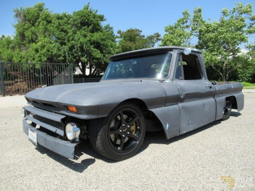 small resolution of chevrolet c20 rat vette truck pickup 1966 grey car for sale