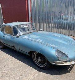 original 1966 jaguar xke series i 2 seater coupe a wonderful restoration candidate car  [ 1200 x 900 Pixel ]