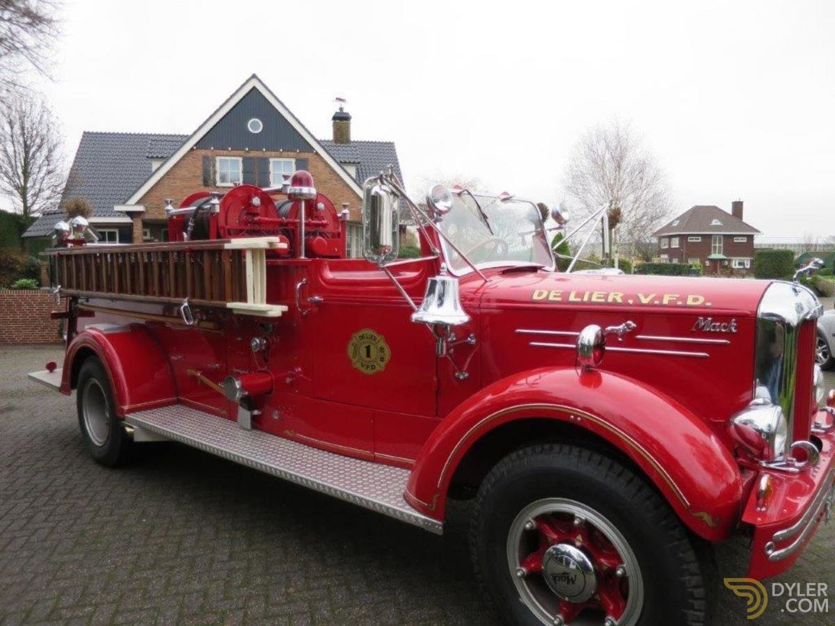 Classic Mack Type 75a Fire Truck For Sale