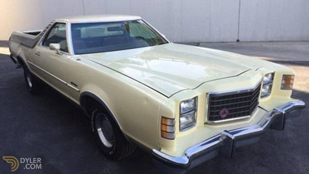 medium resolution of ford ranchero 400gt brougham pickup 1977 sandy car for sale