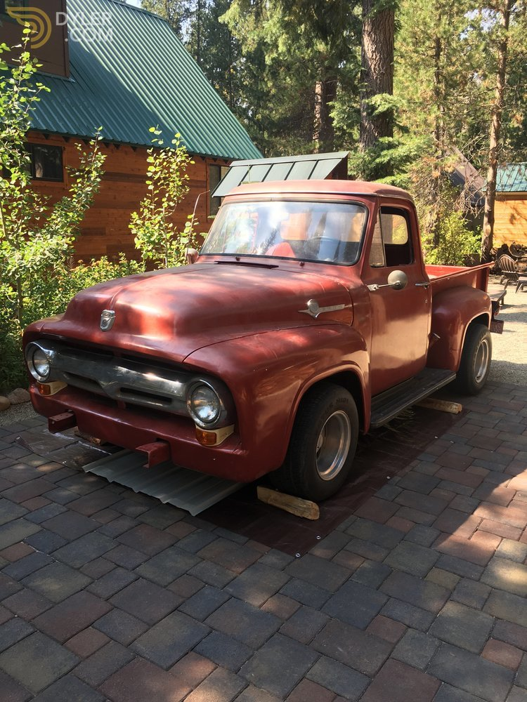 Auction Results and Sales Data for 1955 Ford F-100
