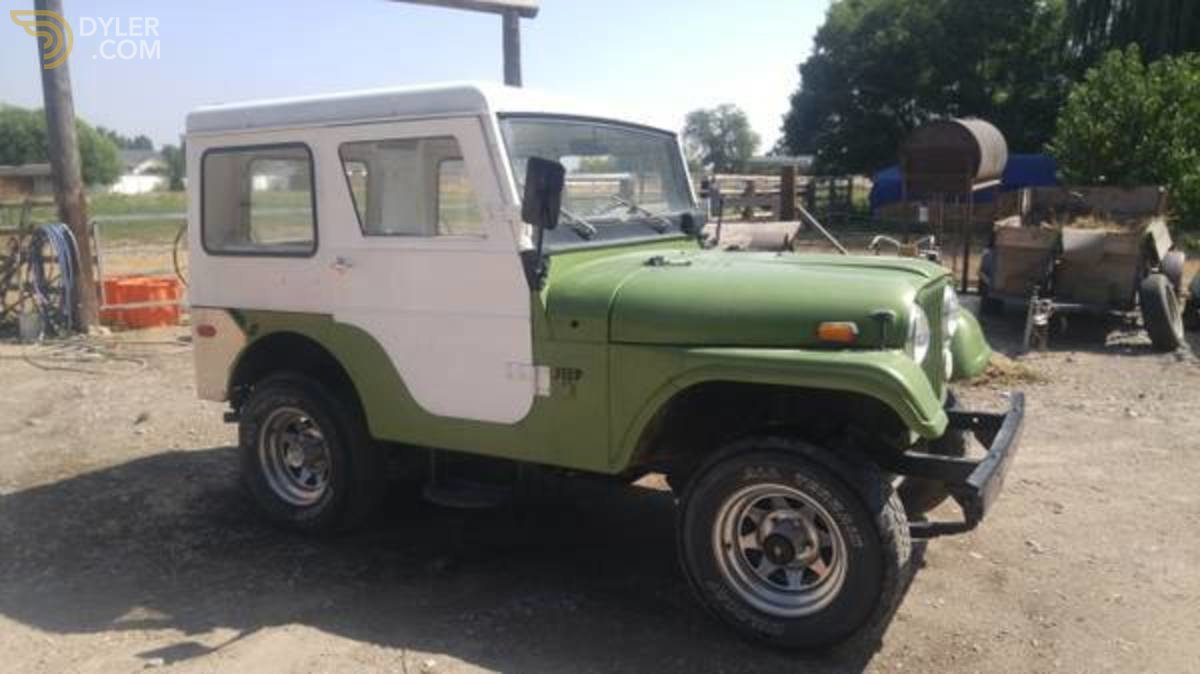 hight resolution of jeep cj5 kaiser suv 1970 green car for sale
