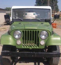 275392 jeep cj5 kaiser suv 1970 green car for sale  [ 1200 x 674 Pixel ]