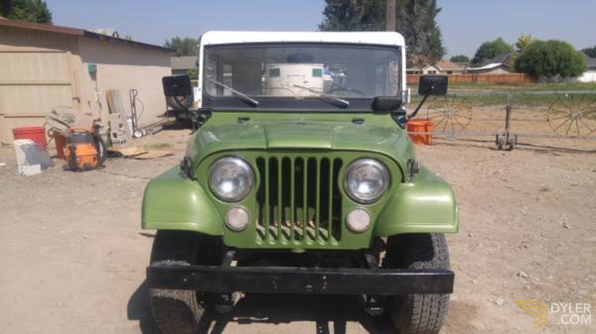 hight resolution of 275392 jeep cj5 kaiser suv 1970 green car for sale