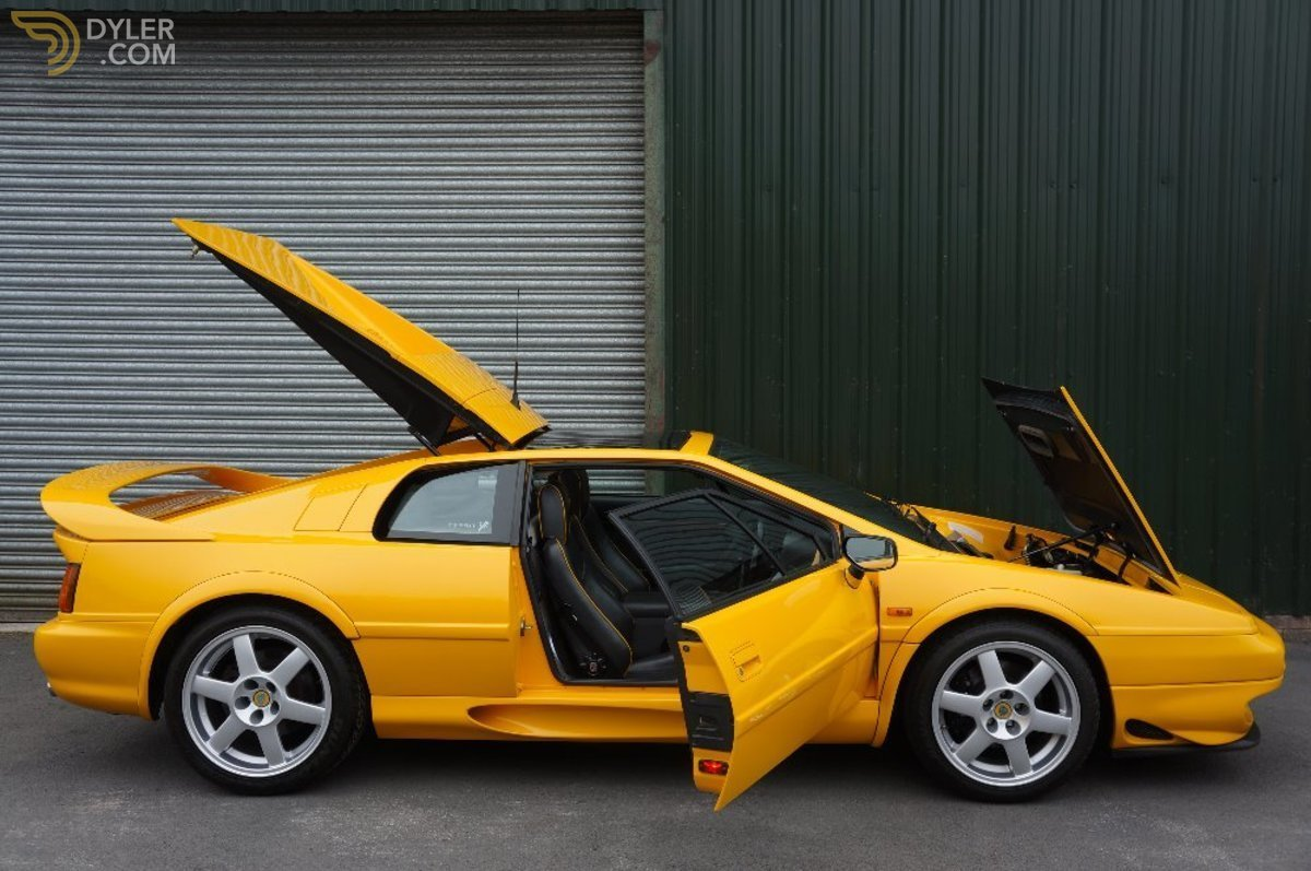 hight resolution of lotus esprit v8 coupe 1996 car for sale