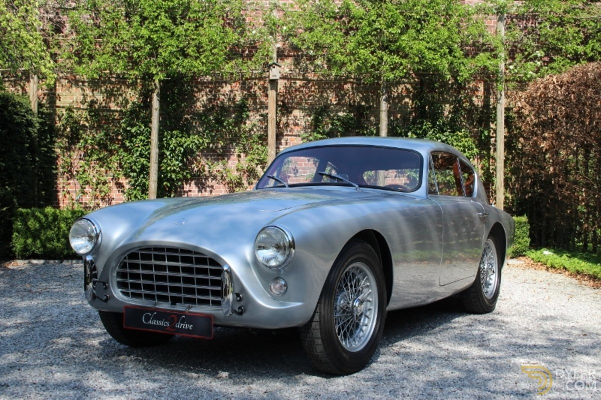 hight resolution of 261385 ac aceca bristol coupe 1959 silver car for sale