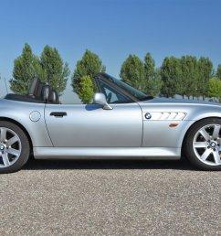 357892 bmw z3 roadster 1 8 cabriolet roadster 1997 silver car for sale  [ 1200 x 800 Pixel ]