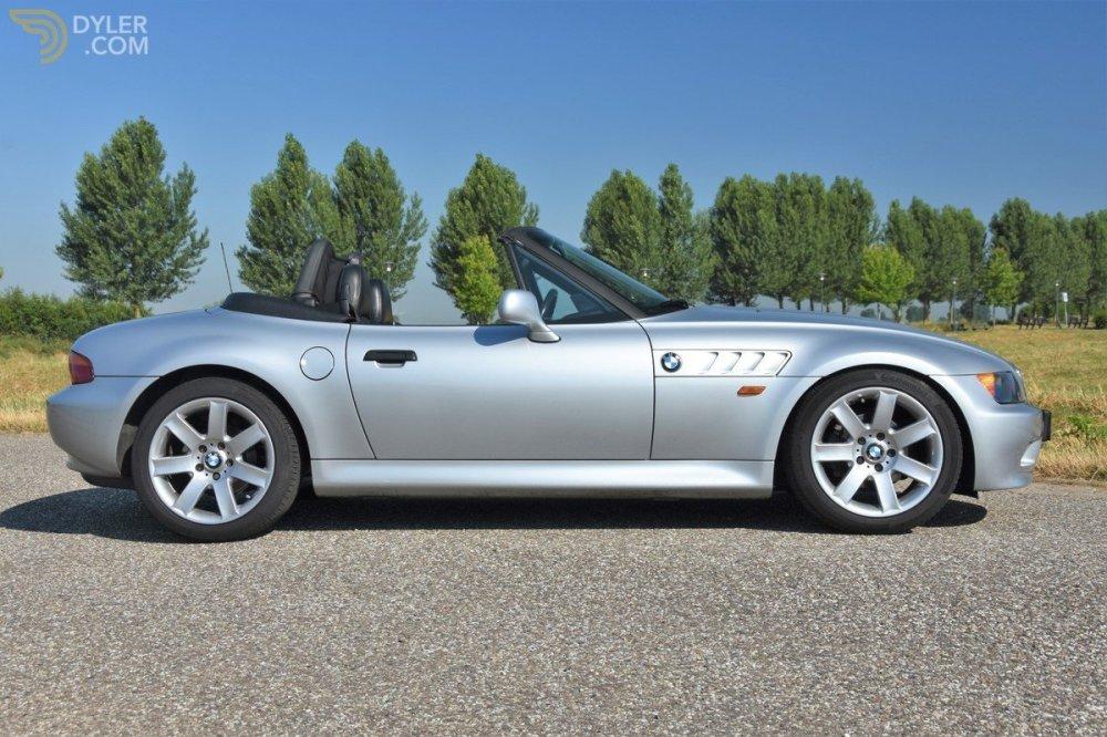 medium resolution of 357892 bmw z3 roadster 1 8 cabriolet roadster 1997 silver car for sale