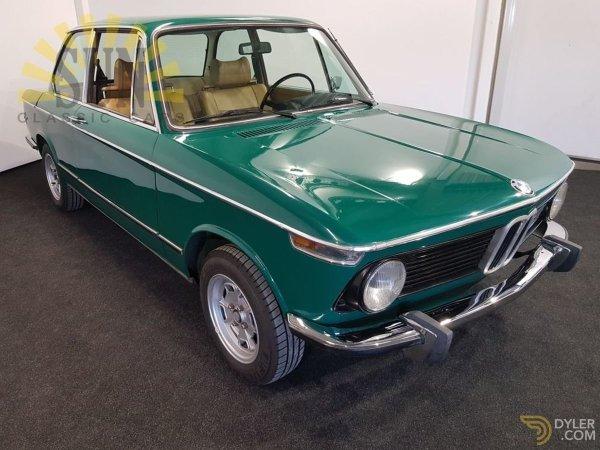 Jade Green BMW 2002