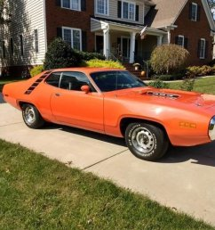 plymouth road runner coupe 1971 orange car for sale  [ 1200 x 900 Pixel ]