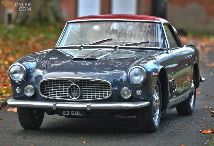Classic 1960 Maserati 3500 Gt By Touring For Sale Dyler