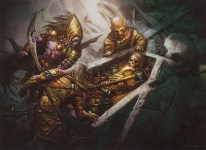 Image result for quest for the holy mtg art