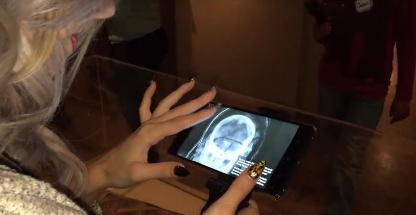 Lumin AR Tour - Mummy X-Ray