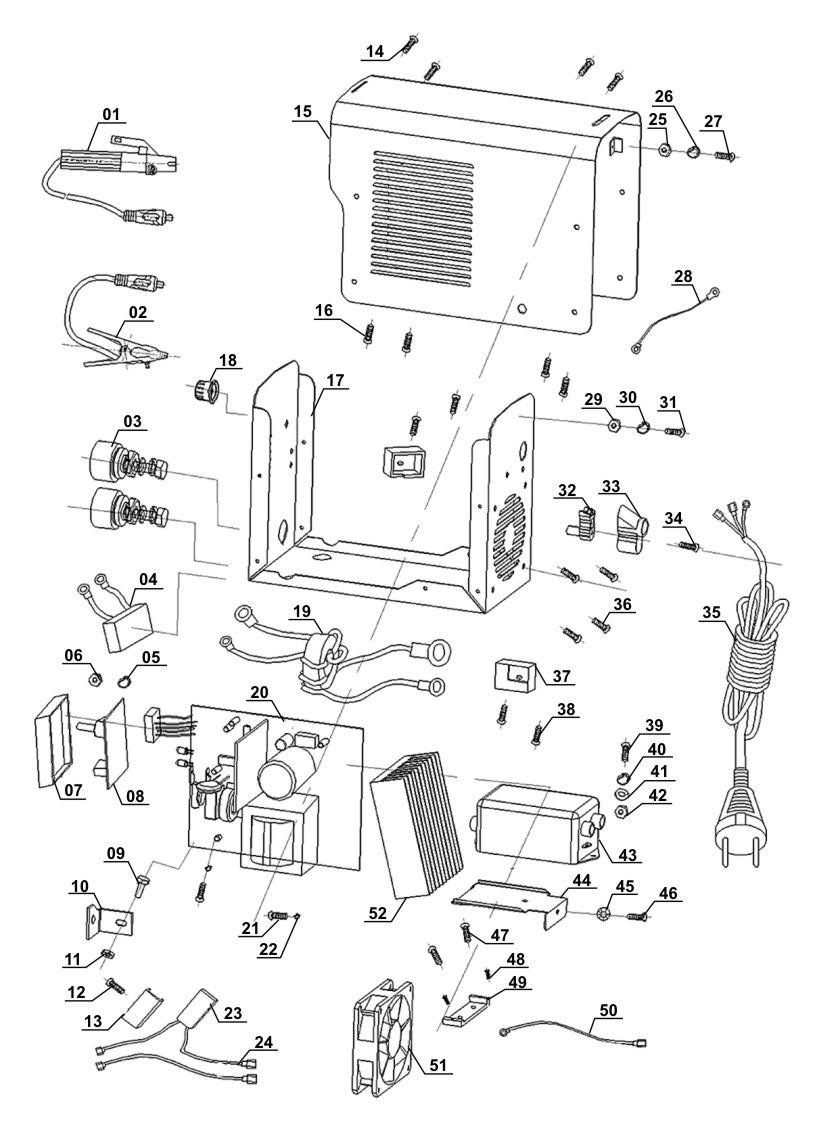 hight resolution of inverter welding machine bt iw 100 ein rh products ein es inverter welding circuit diagram