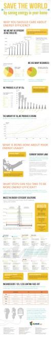 Saving Energy Infographic