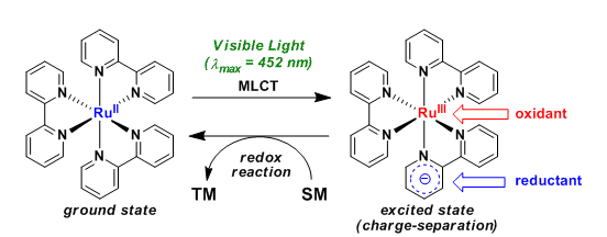 Visible Light Photoredox Catalyst