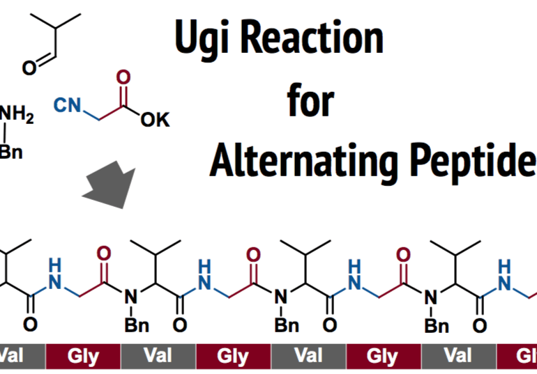 Ugi Reaction for Alternating Peptides