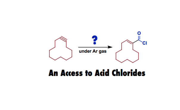 Complex Acid Chlorides from Unsaturated Hydrocarbons