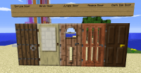 Door Crafting Minecraft & [1.2.5] Minecraft Better