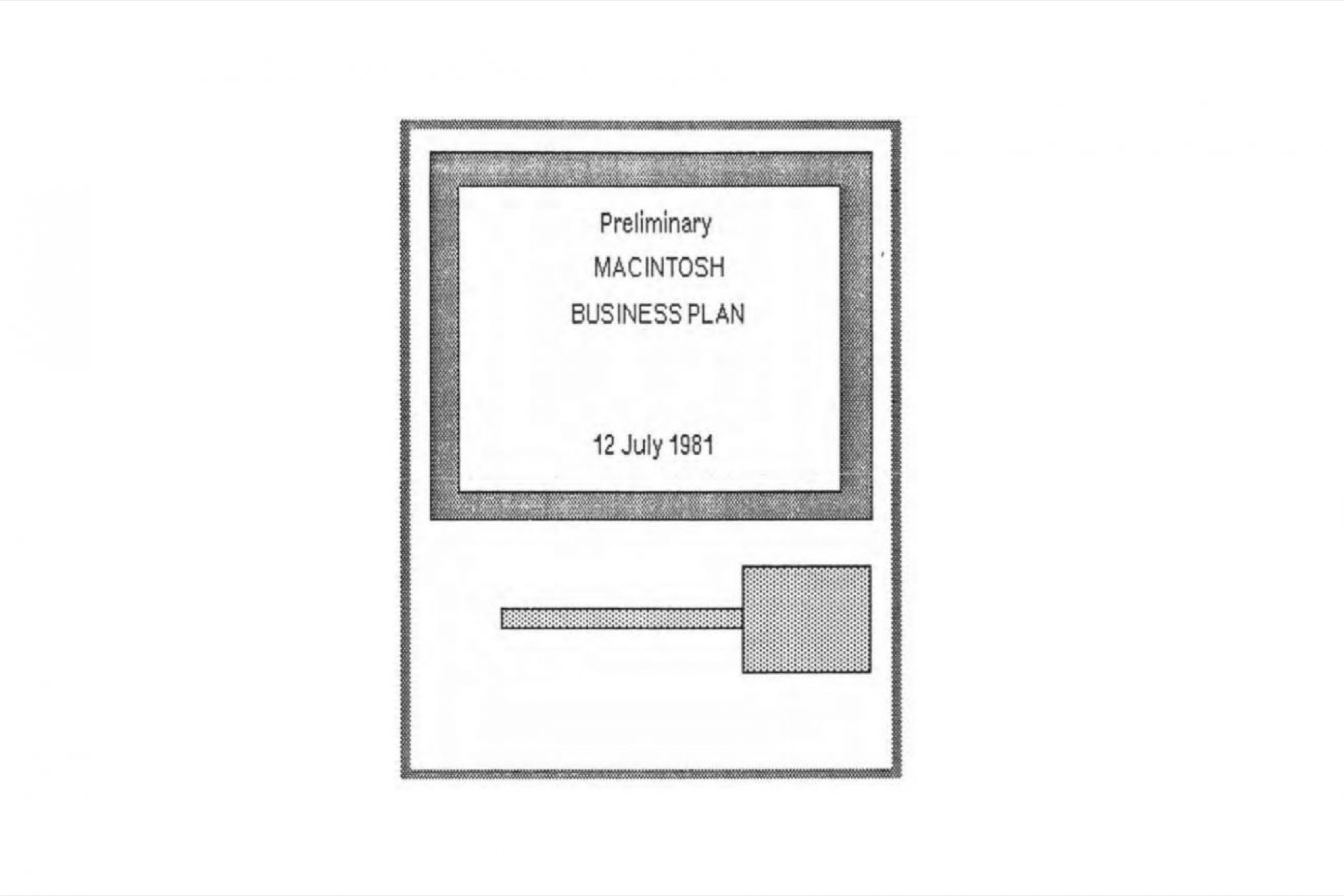 Need a Business Plan Template? Here Is Apple's 1981 Plan