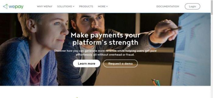 Soluções de pagamento nline - Aceite pagamentos on-line - WePay