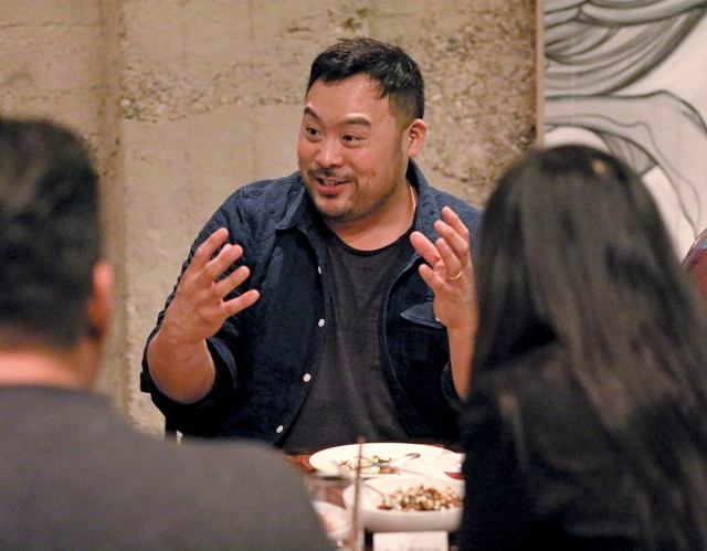 david chang asking question to youngsters