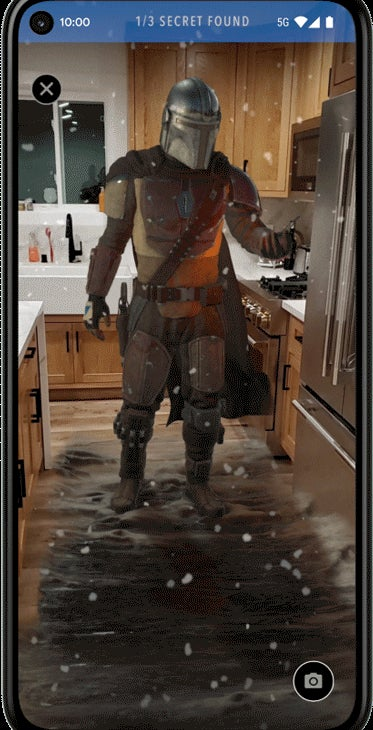 The Mandalorian characters come to life in your home with augmented reality 2
