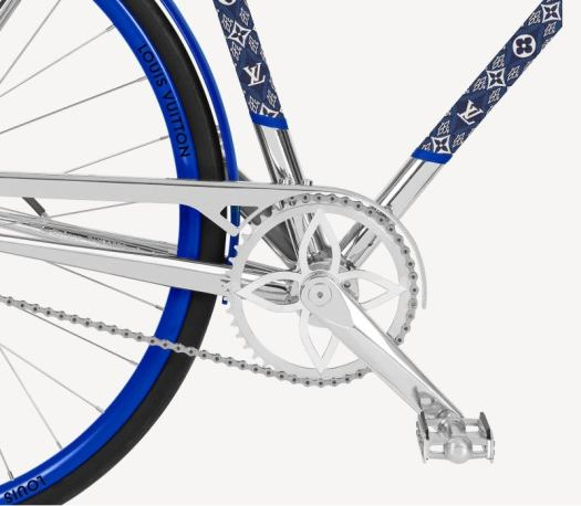 Louis Vuitton launches its luxury bicycle line together with Maison Tamboite 3
