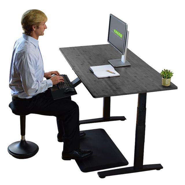 RiseUp Electrical Height Adjustable Standing Desk - $375.99 (16% off)