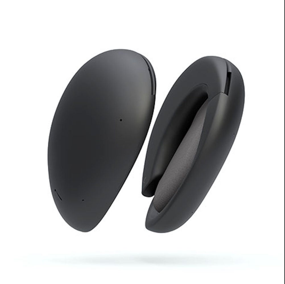 Human Headphones: Hybrid True Wireless Over-Ear Headphones