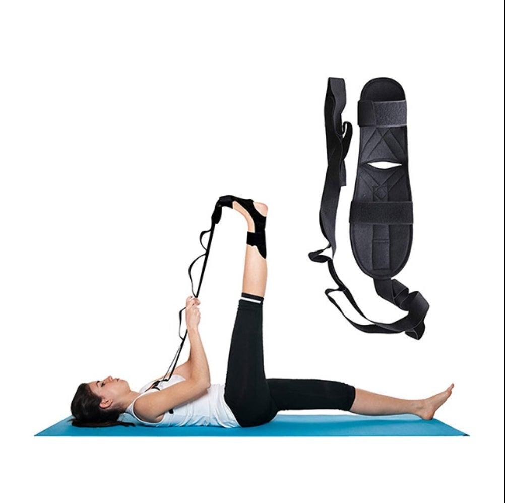 Sangle de soutien de yoga d'étirement de ligament