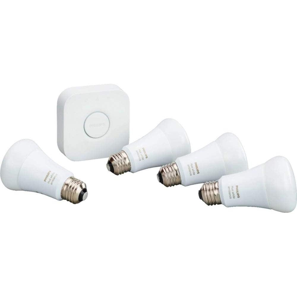 Best Smart Bulbs: Philips Hue Starter Kit ($130)
