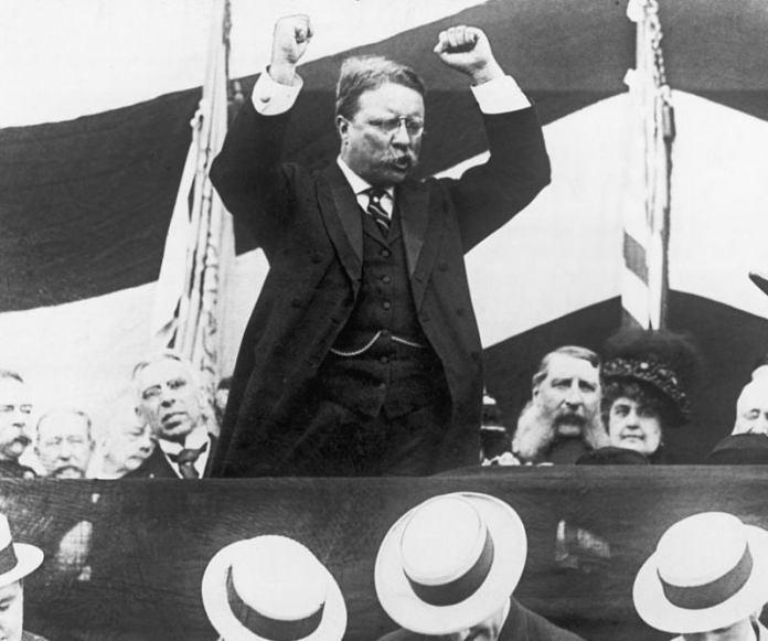 Theodore Roosevelt, One Gallon Per Day