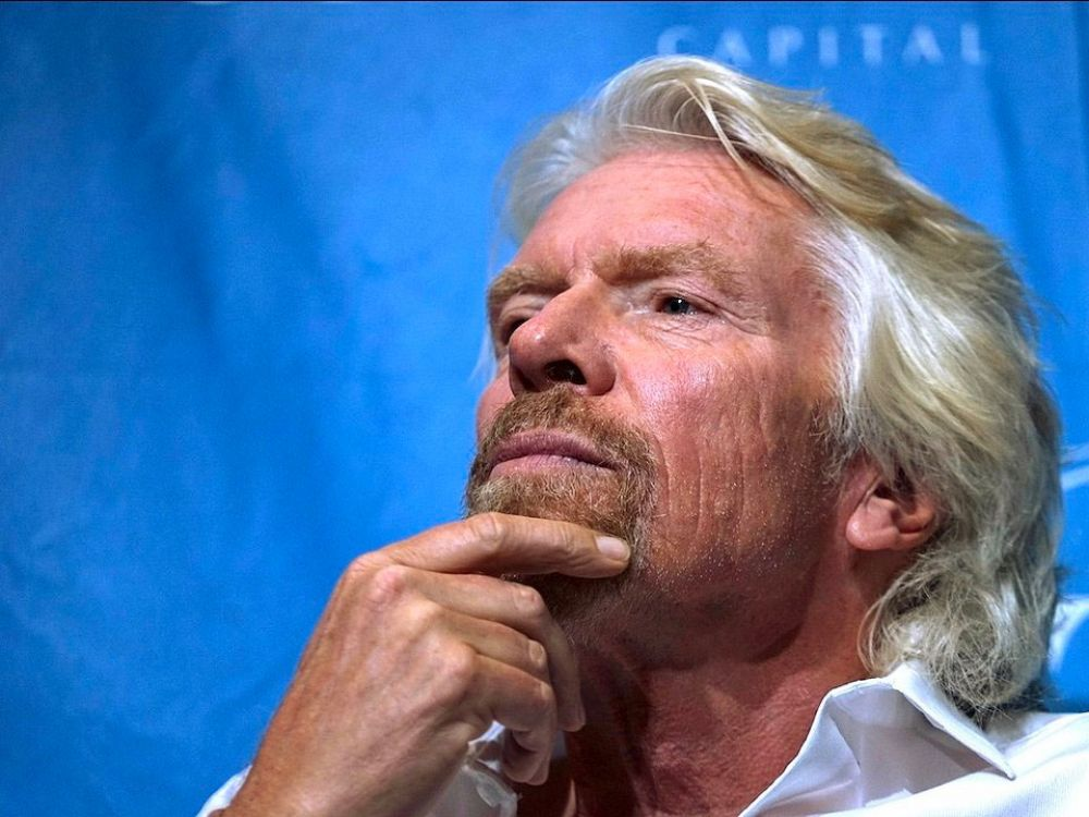 Richard Branson rises at 5 a.m. to get a head start on his reading.
