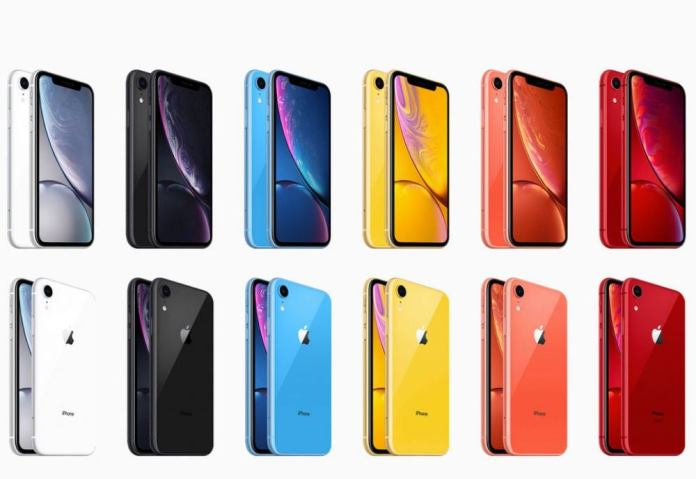 New color options for Apple's iPhone XR sequel.